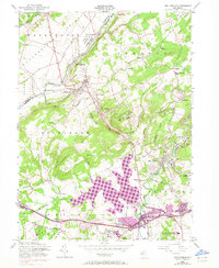 Download a high-resolution, GPS-compatible USGS topo map for High Bridge, NJ (1972 edition)