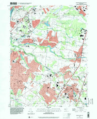 Download a high-resolution, GPS-compatible USGS topo map for Hightstown, NJ (2000 edition)