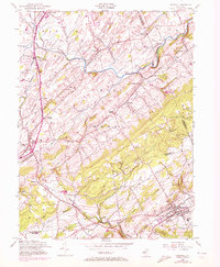 Download a high-resolution, GPS-compatible USGS topo map for Hopewell, NJ (1972 edition)
