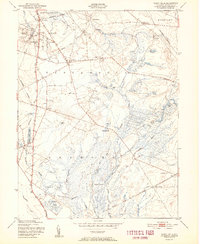 Download a high-resolution, GPS-compatible USGS topo map for Indian Mills, NJ (1951 edition)