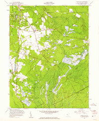 Download a high-resolution, GPS-compatible USGS topo map for Indian Mills, NJ (1961 edition)