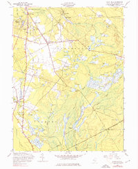 Download a high-resolution, GPS-compatible USGS topo map for Indian Mills, NJ (1976 edition)
