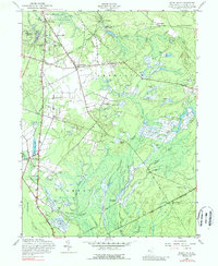 Download a high-resolution, GPS-compatible USGS topo map for Indian Mills, NJ (1989 edition)