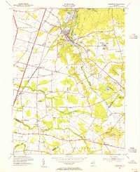 Download a high-resolution, GPS-compatible USGS topo map for Jamesburg, NJ (1955 edition)