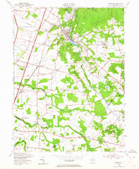 Download a high-resolution, GPS-compatible USGS topo map for Jamesburg, NJ (1965 edition)