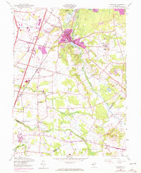 Download a high-resolution, GPS-compatible USGS topo map for Jamesburg, NJ (1972 edition)