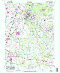 Download a high-resolution, GPS-compatible USGS topo map for Jamesburg, NJ (1988 edition)