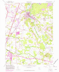 Download a high-resolution, GPS-compatible USGS topo map for Jamesburg, NJ (1982 edition)