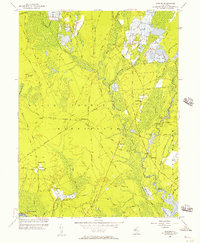 Download a high-resolution, GPS-compatible USGS topo map for Jenkins, NJ (1957 edition)