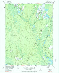 Download a high-resolution, GPS-compatible USGS topo map for Jenkins, NJ (1988 edition)