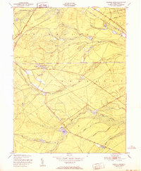 Download a high-resolution, GPS-compatible USGS topo map for Keswick Grove, NJ (1951 edition)