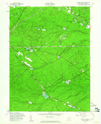 Download a high-resolution, GPS-compatible USGS topo map for Keswick Grove, NJ (1961 edition)