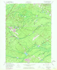 Download a high-resolution, GPS-compatible USGS topo map for Keswick Grove, NJ (1971 edition)