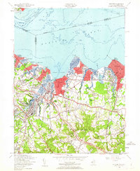 Download a high-resolution, GPS-compatible USGS topo map for Keyport, NJ (1962 edition)