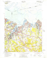 Download a high-resolution, GPS-compatible USGS topo map for Keyport, NJ (1956 edition)