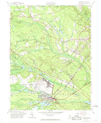 Download a high-resolution, GPS-compatible USGS topo map for Lakehurst, NJ (1968 edition)