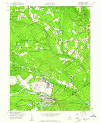 Download a high-resolution, GPS-compatible USGS topo map for Lakehurst, NJ (1961 edition)