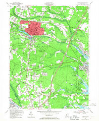 Download a high-resolution, GPS-compatible USGS topo map for Lakewood, NJ (1967 edition)
