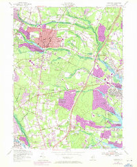 Download a high-resolution, GPS-compatible USGS topo map for Lakewood, NJ (1972 edition)