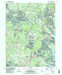 Download a high-resolution, GPS-compatible USGS topo map for Lakewood, NJ (1989 edition)