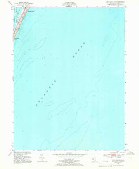 Download a high-resolution, GPS-compatible USGS topo map for Long Beach NE, NJ (1966 edition)
