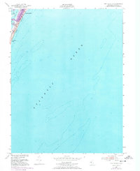 Download a high-resolution, GPS-compatible USGS topo map for Long Beach NE, NJ (1973 edition)