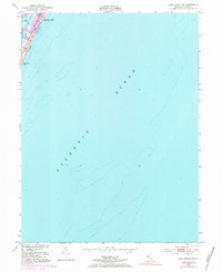 Download a high-resolution, GPS-compatible USGS topo map for Long Beach NE, NJ (1984 edition)