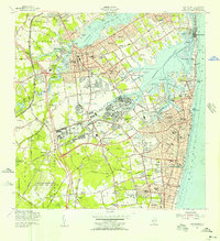 Download a high-resolution, GPS-compatible USGS topo map for Long Branch, NJ (1956 edition)