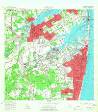 Download a high-resolution, GPS-compatible USGS topo map for Long Branch, NJ (1966 edition)