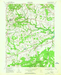 Download a high-resolution, GPS-compatible USGS topo map for Marlboro, NJ (1964 edition)