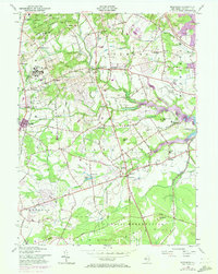 Download a high-resolution, GPS-compatible USGS topo map for Marlboro, NJ (1972 edition)