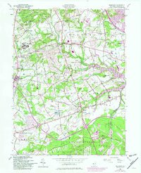 Download a high-resolution, GPS-compatible USGS topo map for Marlboro, NJ (1982 edition)