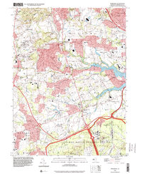 Download a high-resolution, GPS-compatible USGS topo map for Marlboro, NJ (2000 edition)