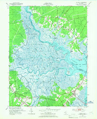 Download a high-resolution, GPS-compatible USGS topo map for Marmora, NJ (1966 edition)