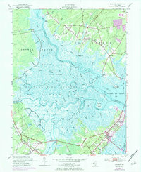 Download a high-resolution, GPS-compatible USGS topo map for Marmora, NJ (1984 edition)