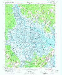 Download a high-resolution, GPS-compatible USGS topo map for Marmora, NJ (1973 edition)