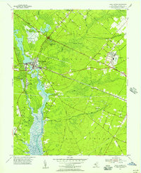 Download a high-resolution, GPS-compatible USGS topo map for Mays Landing, NJ (1956 edition)