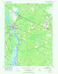 Download a high-resolution, GPS-compatible USGS topo map for Mays Landing, NJ (1973 edition)