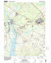 Download a high-resolution, GPS-compatible USGS topo map for Mays Landing, NJ (2000 edition)