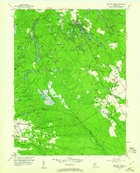 Download a high-resolution, GPS-compatible USGS topo map for Medford Lakes, NJ (1960 edition)