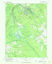 Download a high-resolution, GPS-compatible USGS topo map for Medford Lakes, NJ (1972 edition)