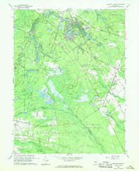 Download a high-resolution, GPS-compatible USGS topo map for Medford Lakes, NJ (1968 edition)