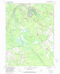 Download a high-resolution, GPS-compatible USGS topo map for Medford Lakes, NJ (1988 edition)