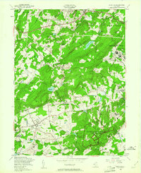 Download a high-resolution, GPS-compatible USGS topo map for Mendham, NJ (1961 edition)