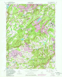Download a high-resolution, GPS-compatible USGS topo map for Mendham, NJ (1982 edition)
