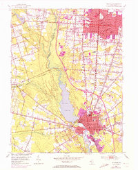 Download a high-resolution, GPS-compatible USGS topo map for Millville, NJ (1972 edition)
