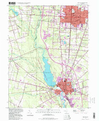 Download a high-resolution, GPS-compatible USGS topo map for Millville, NJ (1998 edition)