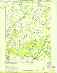 Download a high-resolution, GPS-compatible USGS topo map for Monmouth Junction, NJ (1947 edition)