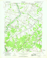 Download a high-resolution, GPS-compatible USGS topo map for Monmouth Junction, NJ (1968 edition)