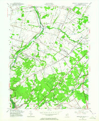 Download a high-resolution, GPS-compatible USGS topo map for Monmouth Junction, NJ (1964 edition)